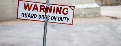 garage and towing liability guard dogs