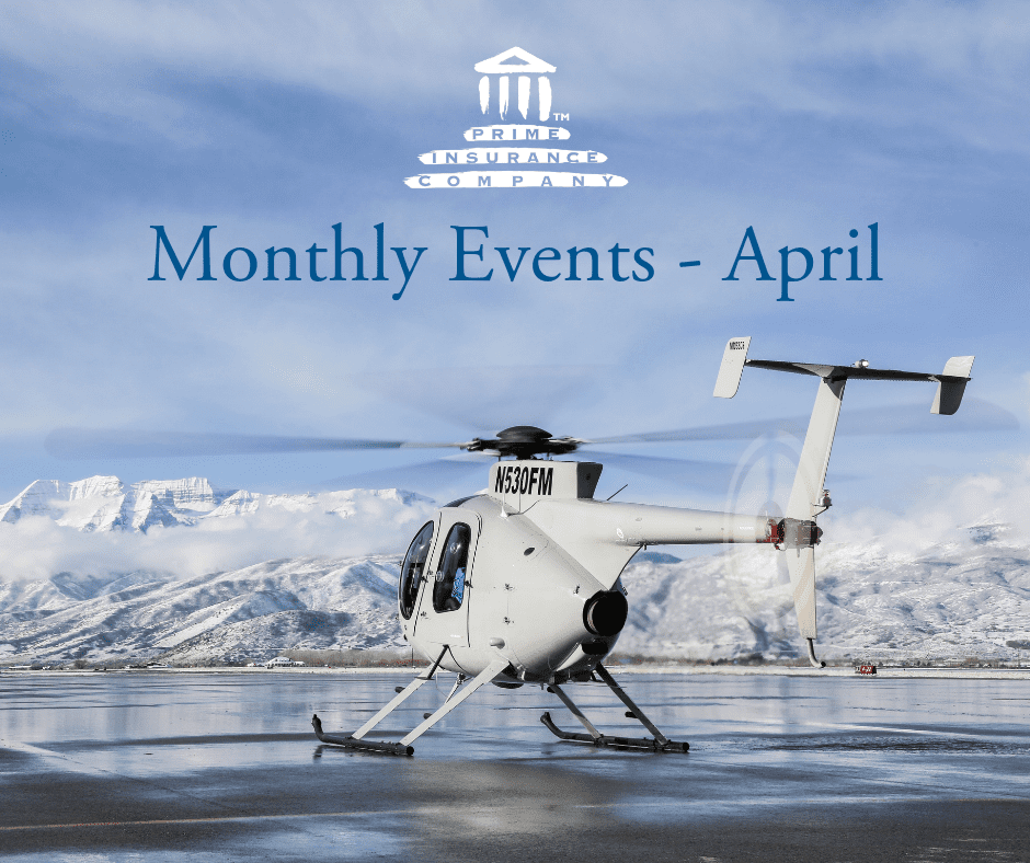 Prime Insurance Company Events april
