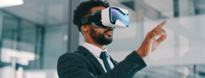 virtual reality and drones