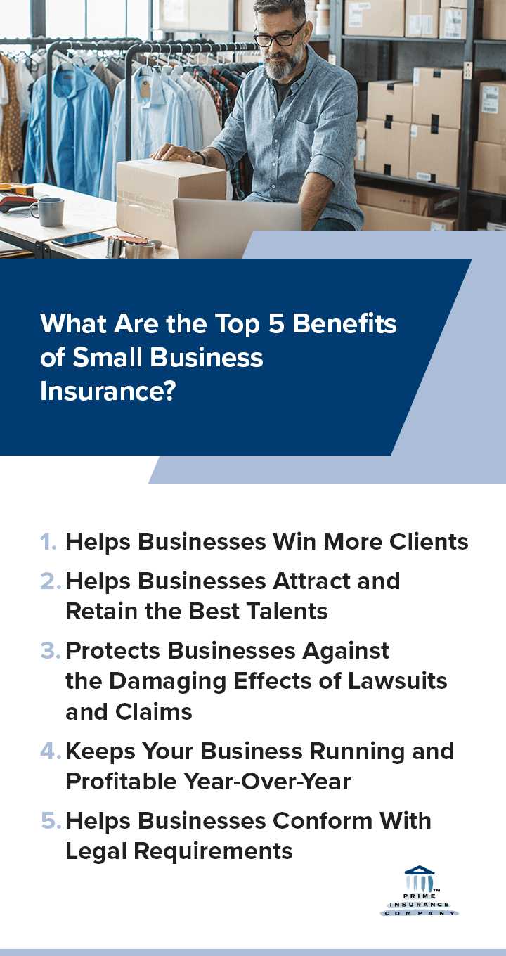 What Are the Top 5 Benefits of Small Business Insurance?