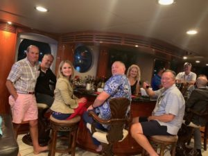 prime insurance company at wsia aboard the leight star yacht